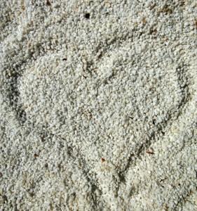 heartin-sand